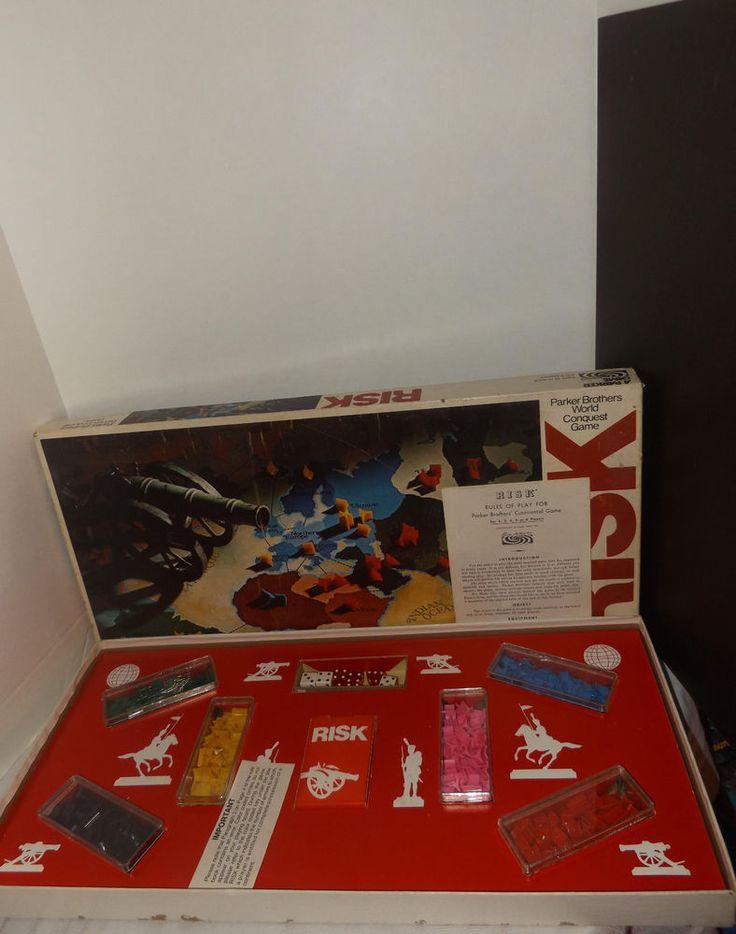 Risk Board Game Vintage 1975 Parker Brothers #44
