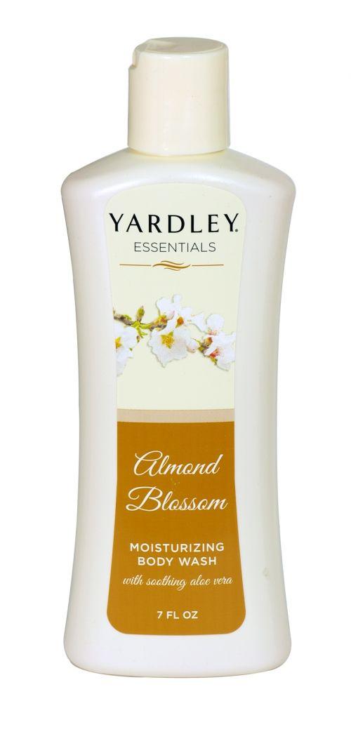 Yardley essentials moisturising body wash 207ml almond blossom