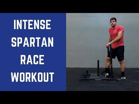 Intense Super Spartan Race Workout