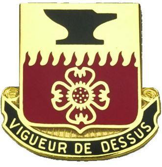 730th Quartermaster Bn Unit Crest (Vigueur De Dessus)