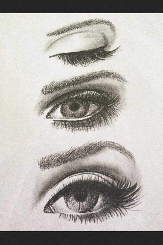 Great practice #eye sketching