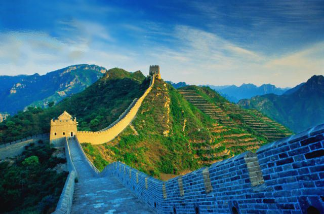 Great Wall of China, China.