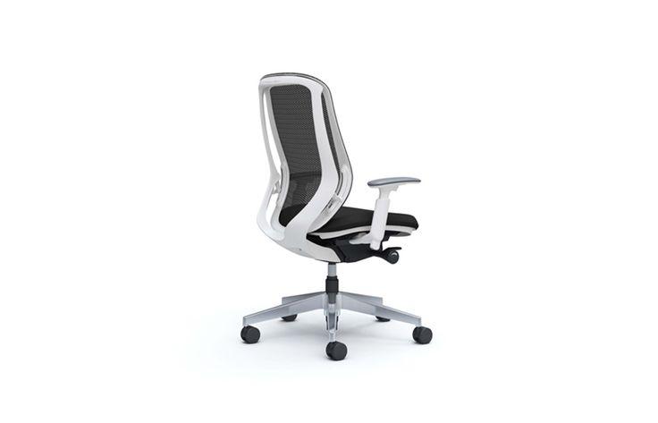 Sylphy Okamura Sylphy, een bureaustoel van PLAN@OFFICE ontworpen door Okamura.