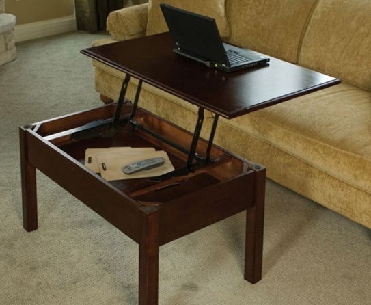 Home Office Furniture Coffee Table Another Option For Convertible Is This Type Of