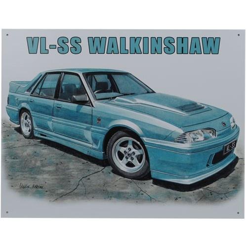 VL SS Walkinshaw Holden Commodore Car Tin Sign from Sarah J Home Decor. $32.95