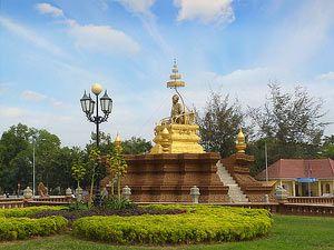 Hun Sen Park, Phnom Penh, Cambodia.