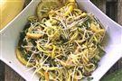 Let's Eat:  Yellow Squash Pasta with Caramelized Lemon