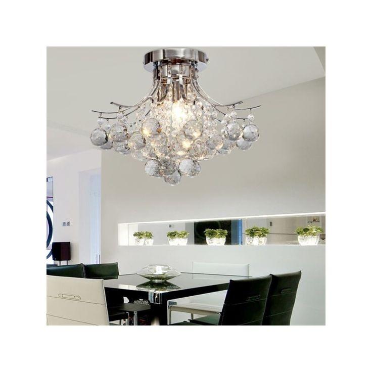 Chandelier Modern Crystal 3 Lights Pendant Ceiling