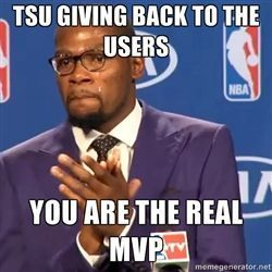 #TSU is #TheRealMVP ::: http://topnetworkersgroup.com/tsu :: learn more about us