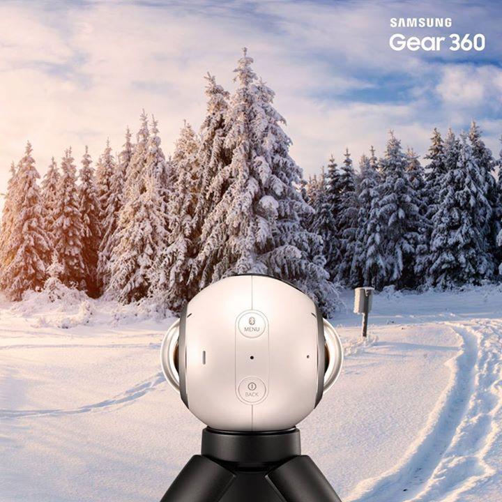Dai più piccoli momenti fino all'immensità dell'orizzonte: catturate la vita  a 360° con Samsung #Gear360 #Roundie ;) http://spr.ly/Scopri_Gear360
