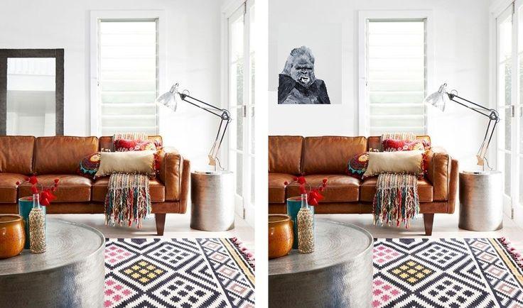 one of my favourites  Gorilla 60x80cm oil, canvas  oldi ildiko olah oldiart.com