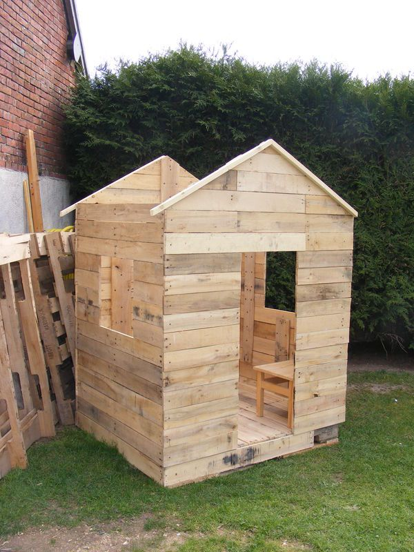 Idées éco deco avec récuperation de palettes de bois - Recyclage direct: idées, trucs et astuces