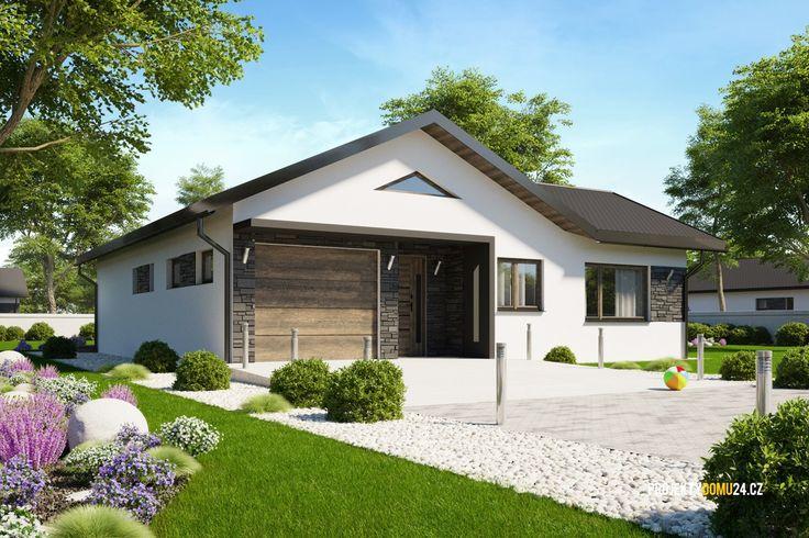 projekty domů - bungalov LINK