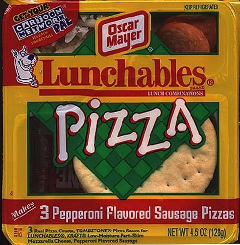 Food favorites from the 90's-