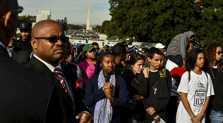 Like a pilgrimage: Tens of thousands attend 20th Million Man March anniversary in Washington, DC #Washington, #March, #US