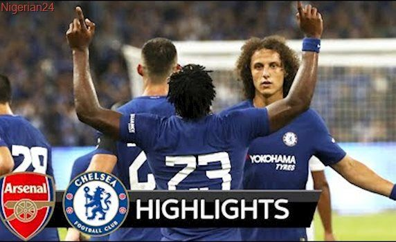 Arsenal vs Chelsea 0-3 - All Goals & Extended Highlights - Friendly 22/07/2017 HD