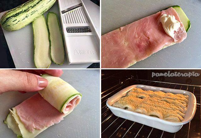 PANELATERAPIA - Blog de Culinária, Gastronomia e Receitas: Canelone de Abobrinha