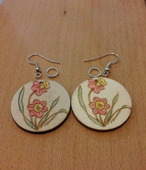 Check out this item in my Etsy shop https://www.etsy.com/listing/474121280/handmade-wooden-earrings-flowers