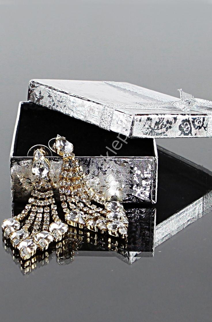 Crystal earrings, wedding earrings
