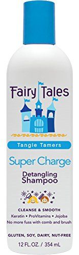 Fairy Tales Super-Charge Detangling Shampoo for Kids, 12 Ounce Fairy Tales