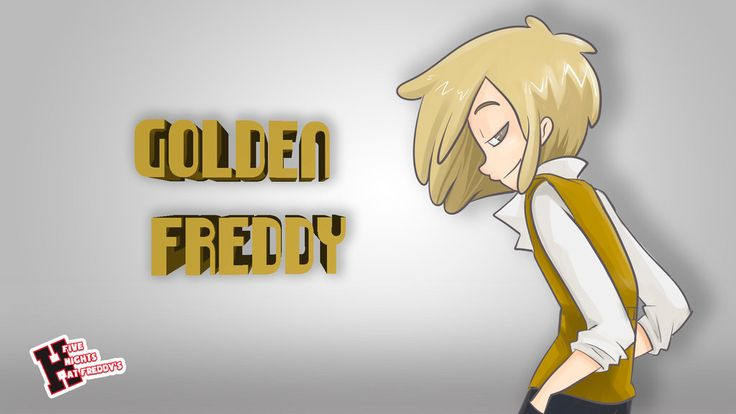 THE GOLDEN BOY - GOLDEN FREDDY - FNAF HS by edd00chan on DeviantArt