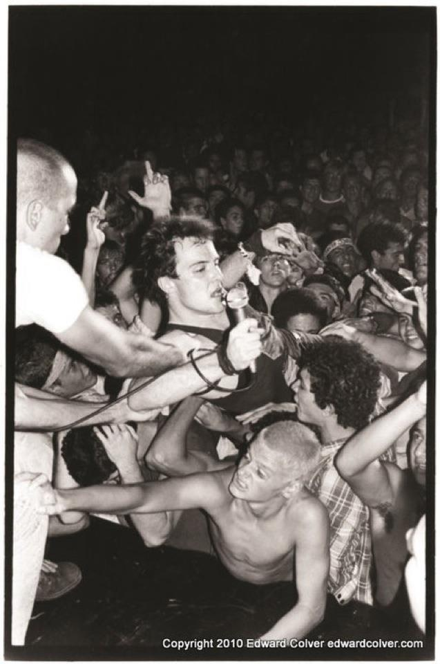 Jello Biafra, Dead Kennedys (saw them a few times. amazing)