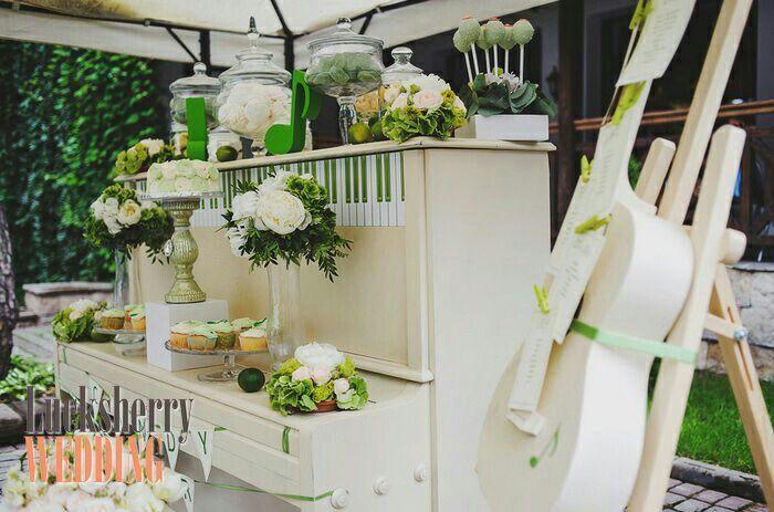 Музыкальная зеленая свадьба