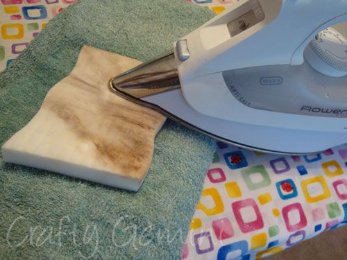 How to Clean Iron's Soleplate - Crafty Gemini