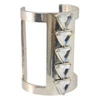 Lotus Mendes Loyalty and Life Cuff - Silver