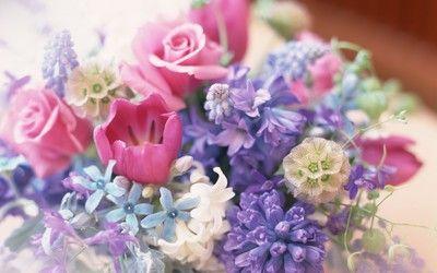 Wedding bouquet wallpaper