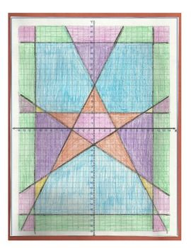 Graphing Lines in Algebra- This is an activity produces a quilted design!