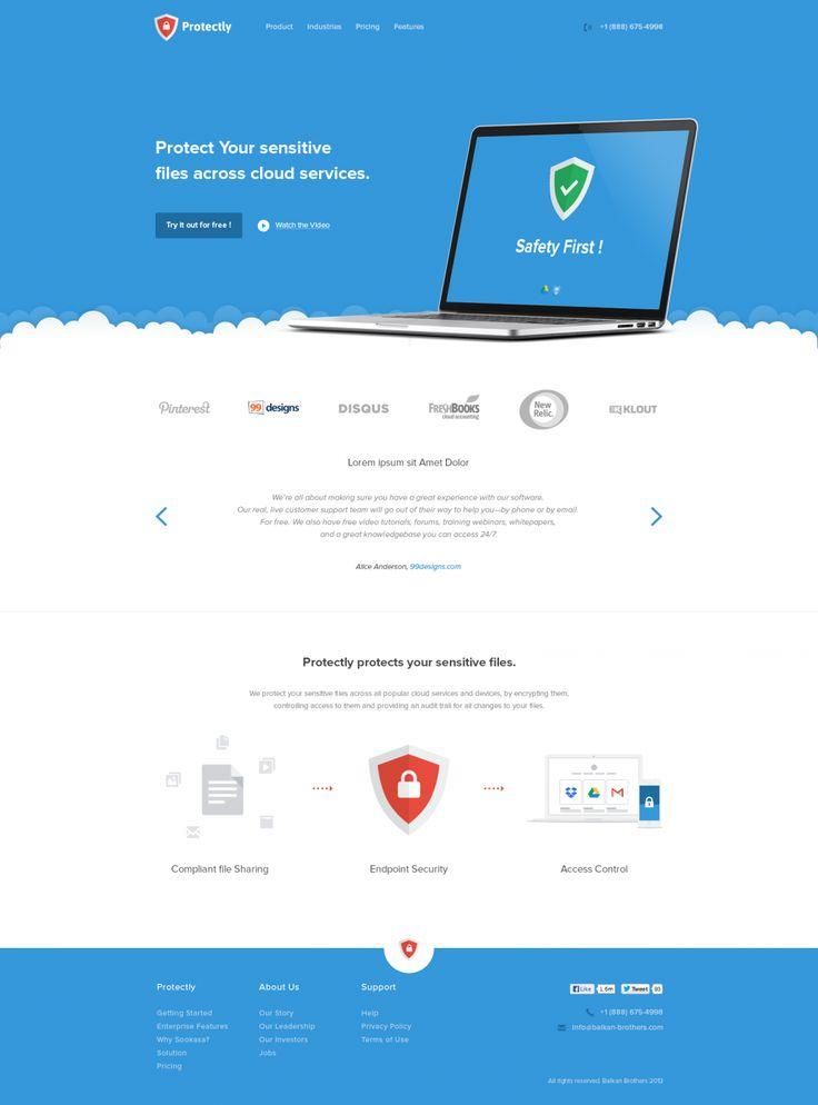 647 best Free psd template webdesign / Website images on Pinterest