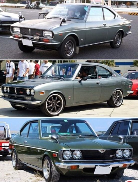 Mazda RX-2 coupe's