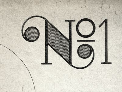 .Vintage Typography, Numbers Typography, Inspiration Typography, Design Types, No1, Hands Letters, Graphics Design Numbers 1, Typographyui Design, Loneliest Numbers