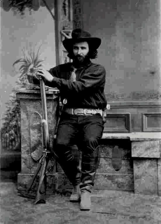 "Ed Schieffelin, ""Founder of Tombstone"", Arizona, 1880's"