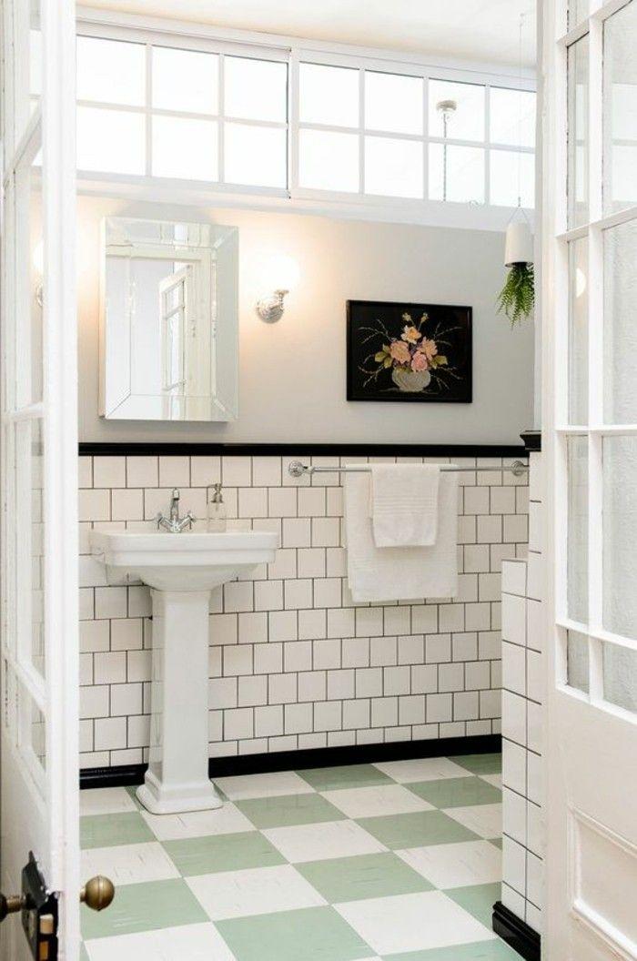 17 meilleures id es propos de lavabos de salle de bain r tro sur pinterest chanteur. Black Bedroom Furniture Sets. Home Design Ideas