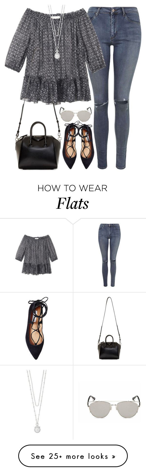 """""""Untitled#3873"""" by fashionnfacts on Polyvore featuring Topshop, Rebecca Taylor, Steve Madden, Givenchy, Retrò and The Limited"""