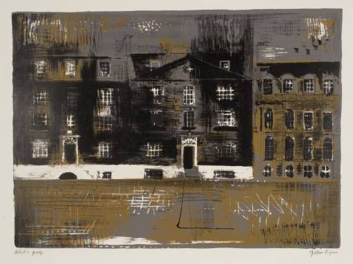 'Westminster School', John Piper, 1961