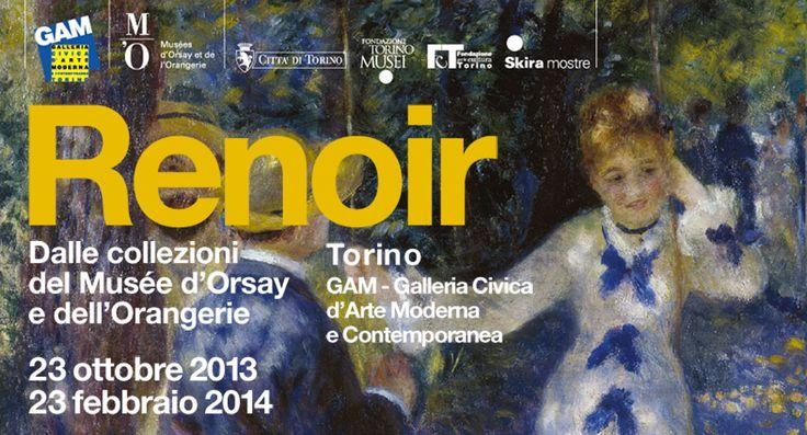 A Torino alla GAM saranno esposti più di 60 capolavori di Renoir (23/10/2013 - 23/2/2014)