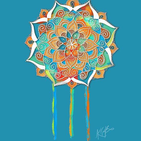 Celestial Blue Mandala