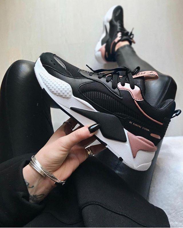 black #puma #RSX #Shoes #Sneakers