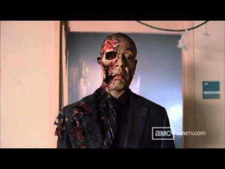 Gus' last scene on Breaking Bad Season 4