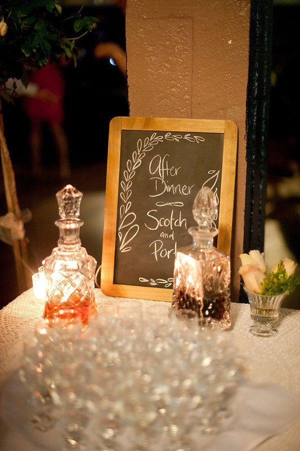 After Dinner Scotch and Port Photography: Sugarblush Photography - sugarblush.com.au Read More: http://www.stylemepretty.com/australia-weddings/queensland-au/brisbane/2013/01/11/brisbane-racing-club-wedding-from-sugarblush-photography/