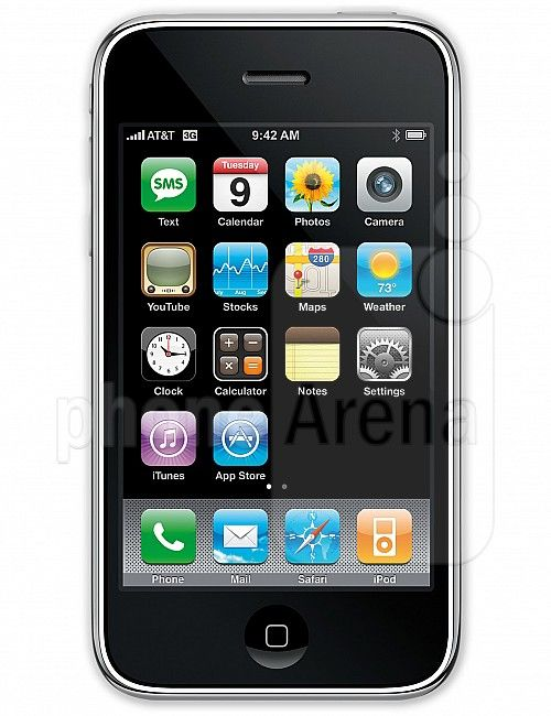 My first iPhone - the 3G. The start of my Apple addiction. Ground breaking design and cooler than ice!