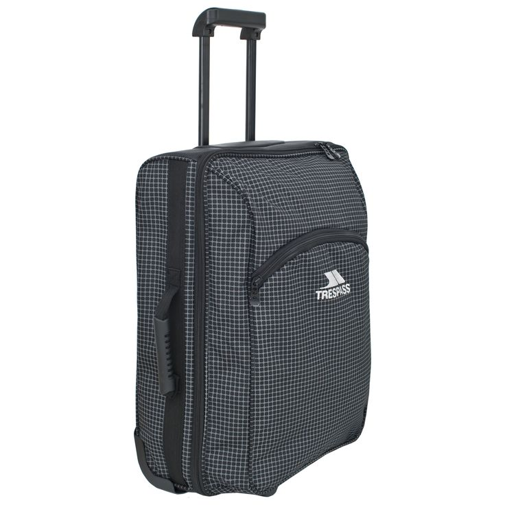 If you love airports and spend as much time as you can jet-setting to find your new favourite location, the Vacation 50 litre hand luggage trolley bag is a match made in heaven for you. With a capacity of 50 litres, this roller bag is ideal for a week away somewhere fun. The main compartment is accessed by a full length zip for easy access and inside is an internal organiser. On the front is an additional zip compartment for easy access, along with a name tag for easy identification. Carry…