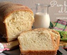 Pan bauletto al latte – ricetta leggera (70 calorie a fetta)