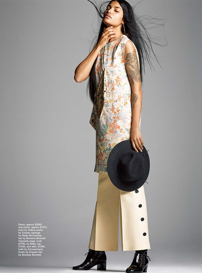Laura James Wears 'New Lengths', Lensed By David Gubert For Marie Claire Australia July2015 - 3 Sensual Fashion Editorials | Art Exhibits -...