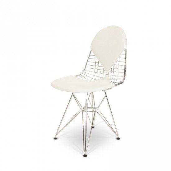 Eames Bikini wired chair weiß - POPfurniture.com