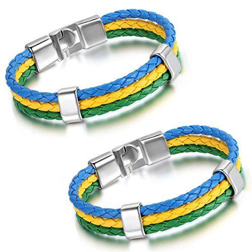 Aroncent Brasilien Flagge Armband Lederarmband Kordelarmb... https://www.amazon.de/dp/B01H3B68BI/ref=cm_sw_r_pi_dp_8zgKxbRFEKMAJ