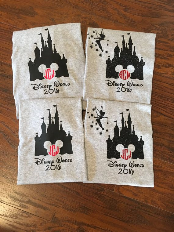 Family Disney Shirts / Matching Disney Shirts / by DeckedOutBaby